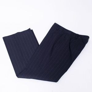 Ann Taylor Pinstripe Signature-fit Trousers PREOWN